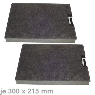 kohlefilter 300 x 215 mm miele. Black Bedroom Furniture Sets. Home Design Ideas